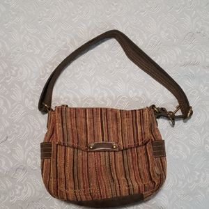 Fossil long live vintage corduroy crossbody